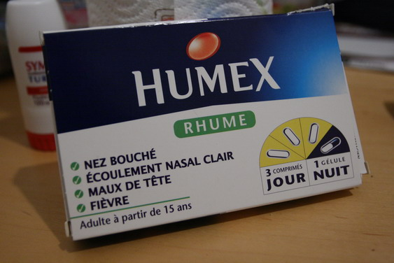 Humex contre le rhume ...