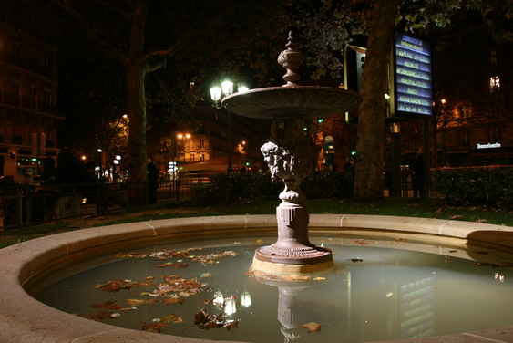 fontaine place Maubert